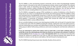 PG-CWWN-Call-for-Steering-Group-Members